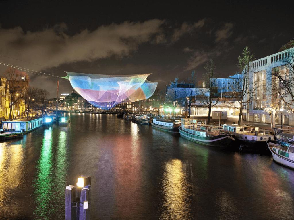 Ámsterdam, la ciudad de las bicis en invierno