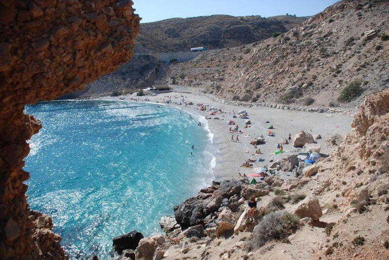 playa granada rijana castell de ferro vacaciones verano